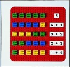 aprender matematica con lego
