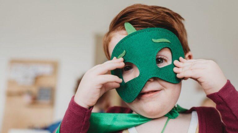 máscaras de superheroes para niños